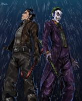 JASON and JOKER by bhebbo