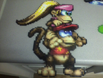 Diddy and Dixie Kong by Brentimous