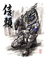 Garrus sumie-800 by 600 by MyCKs