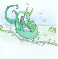 Serperior by silverfang07