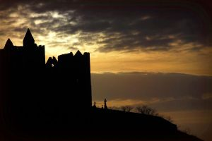 The Rock of Cashel by Demonoftheheavens