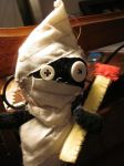 Oh hello, there. WV: Homely Stuck Doll by Harelequin