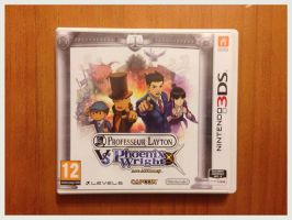 Professor Layton VS Phoenix Wright : Ace Attorney by BenjaminHunter