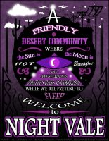 Night Vale Poster by Nashoba-Hostina