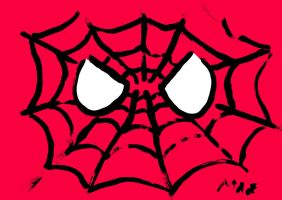 Spider-Man Coloured by michal-boomr