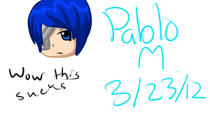 [ Random ] My First Tablet Drawing by pdiddy200