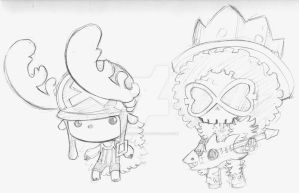 Lil wierd pirates by KevinRaganit
