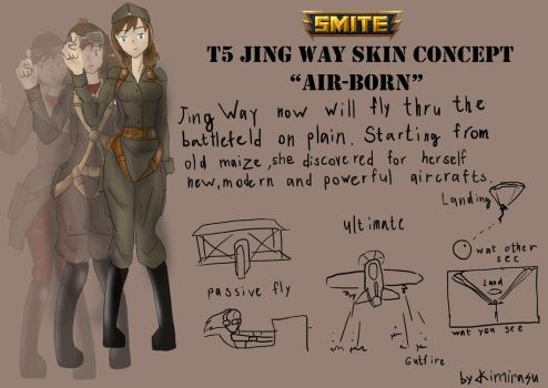 T5 Jung Way Community skin concept Airborn page1 by Kimirasu