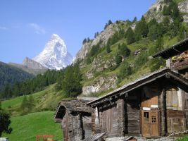 You are now leaving Zermatt.. by thoosah