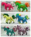 Custom G1 My Little Pony ornaments available!! by Capnchan