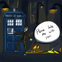 LaRoo and the Doctor by 1Flynnia1