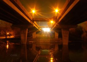 Under the bridge by metallic-heart