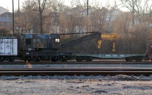 N and w rail mounted crane by xshadow259