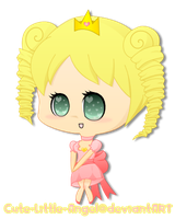 Gift: Chibi Queen by Cute-Little-Angel