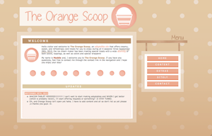 The Orange Scoop by newbiecolourer