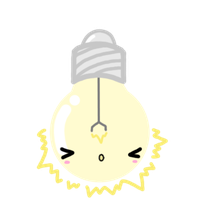 light bulb by GrayMegumi