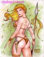 JUNGLE GIRL by RODEL MARTIN (06062014) by rodelsm21