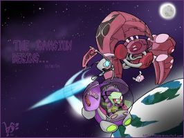 The Invasion Begins Wallpaper by espie