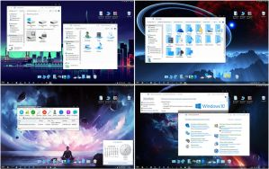 Windows10 Blue W7 IconPack by alexgal23