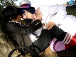 Mephisto and Rin kiss by seme-yaoi-love