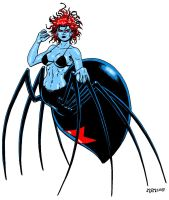 Black Widow by RedSpider2008