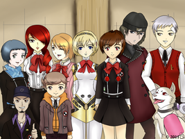 Persona 3 Portable SEES by weiss-aki