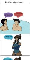 The Water Is Great Korra by CuriouslyXinlove