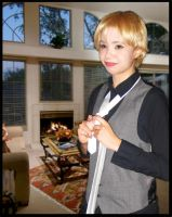 Blonde Prom Pic by Hazel-Almonds