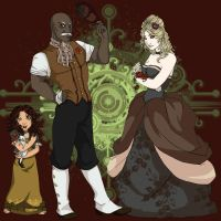 The Ellington Family by AraRouge