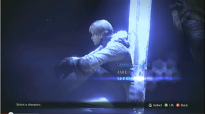 RE6 Character Selection Screen - Sherry by BrandiSwick227