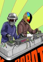 Daft punk 16K by RNZZZ