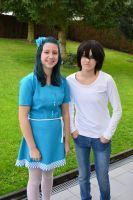 L and Navi cosplay by SnowBreeze-Puff