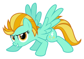 Lightning Dust is ready (SVG) by HankOfficer