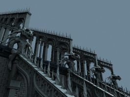 Materialled Nightmare Realm Rooftop by cmdesigna