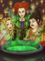 Hocus Pocus - fan art by Sushimii