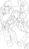 Passing Limitations LINEART by AbsentWhite