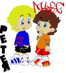 Marc and Peter by Shake-zula