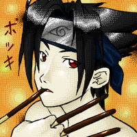 Pockey Sasuke by Naniel
