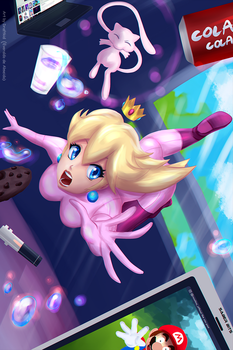 Princess Peach #02 by draftkid