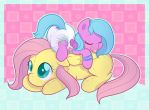 Naptime with Fluttershy by Hourglass-Sands