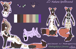 TheDragokitty: Spell's Updated Ref by TheDragokitty