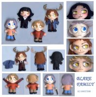 blake family plush by chicharon