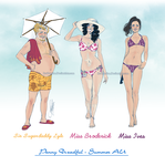 Ladies of Penny Dreadful Summer AU by RedPassion