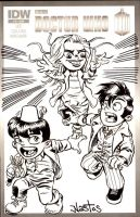 Chibi Doctor Who - Bad Wolf by ElfSong-Mat