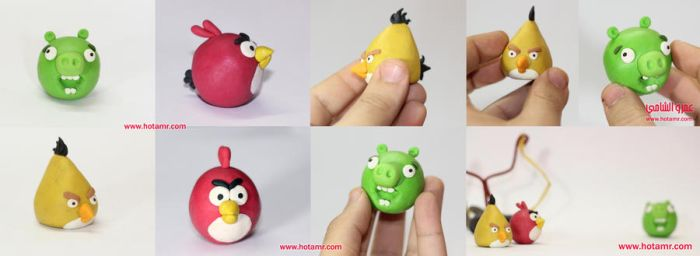 Angry Birds clay by hotamr