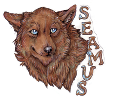 Contest Prize Seamus Badge by JustRach