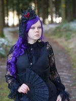 Goth Girl - Stock 1 by Rosenrot-Photography