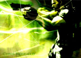 Chris Redfield by Mikado-Neon
