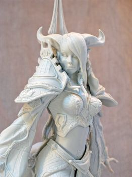 Draenei Mage detail by BLACKPLAGUE1348