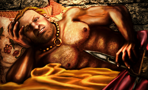 Varric by TheLoneInquisitor